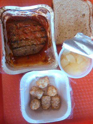 ribs school lunch