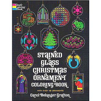 Stained Glass Ornament Book