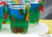Slimy Jell-O Snacks