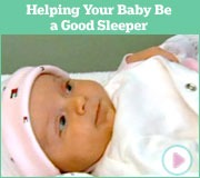 Helping Baby Be a Good Sleeper