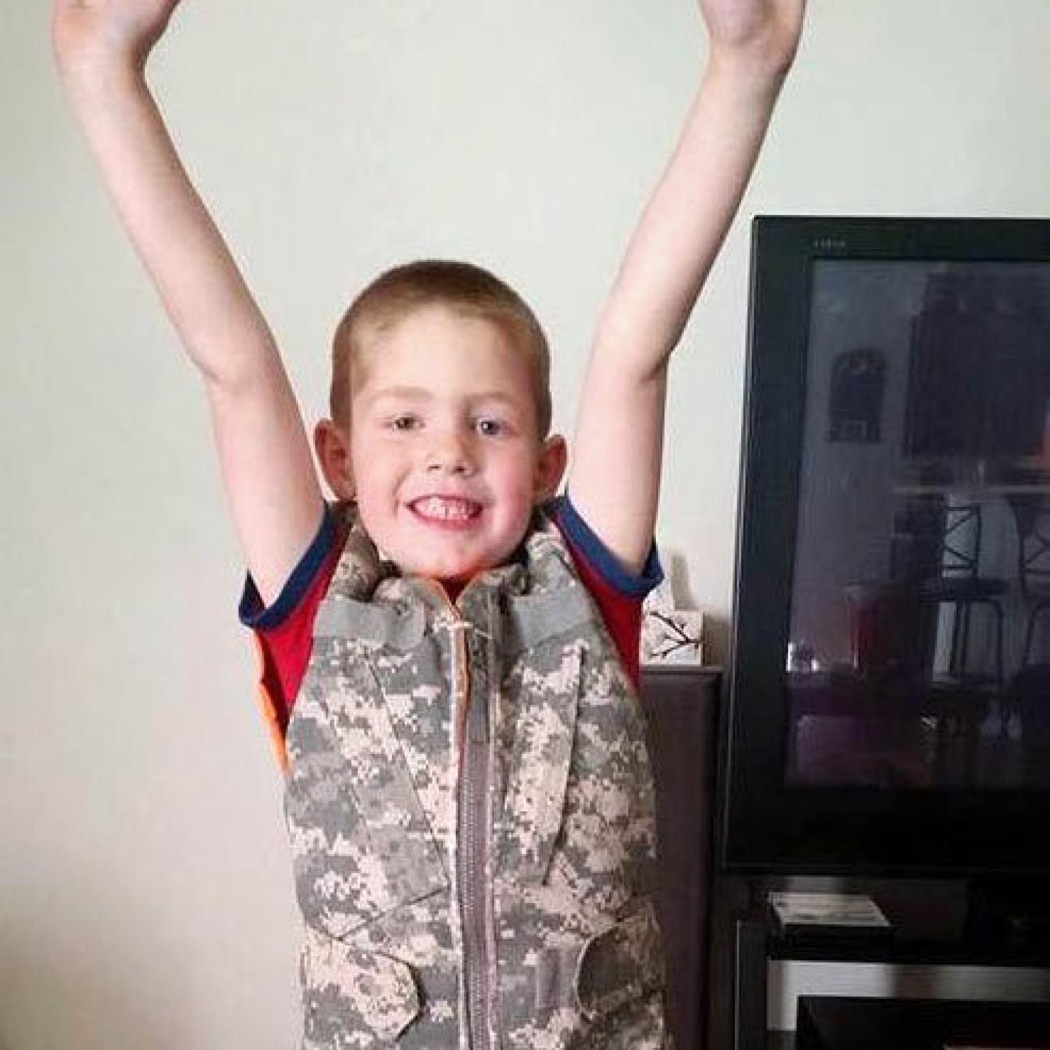 Mom Recycles Military Uniforms into Weighted Vests for Kids with