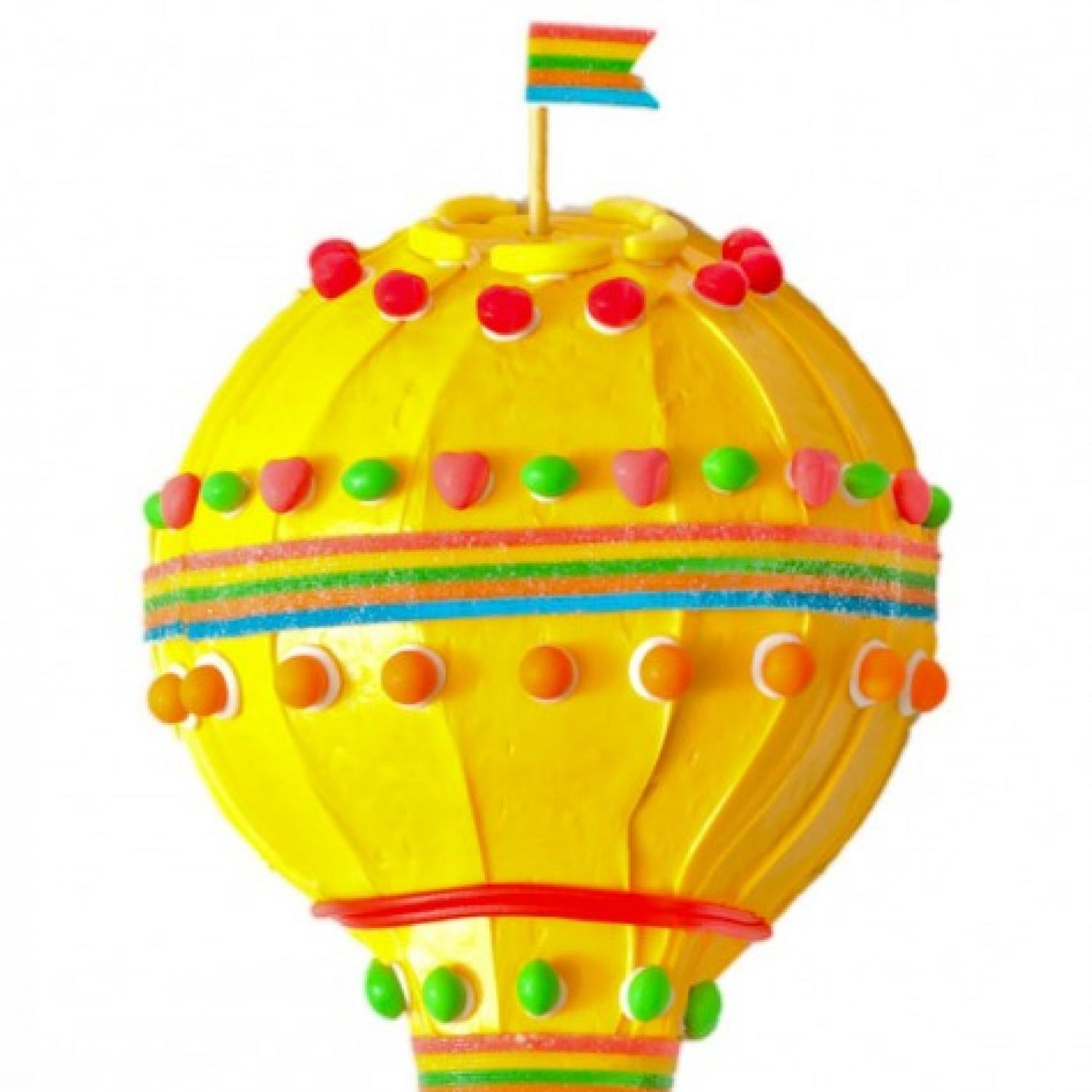 Cake Design Ballarat : Hot Air Balloon Birthday Cake Design Parenting
