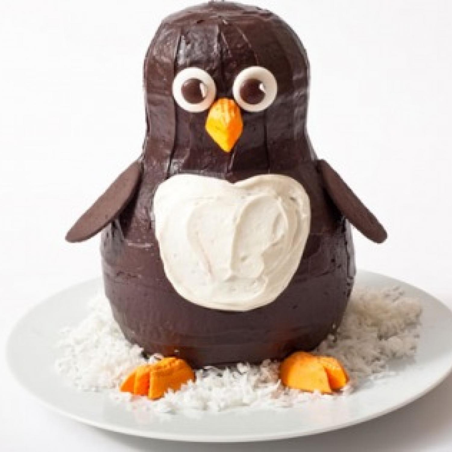 Penguin Birthday Cake ...