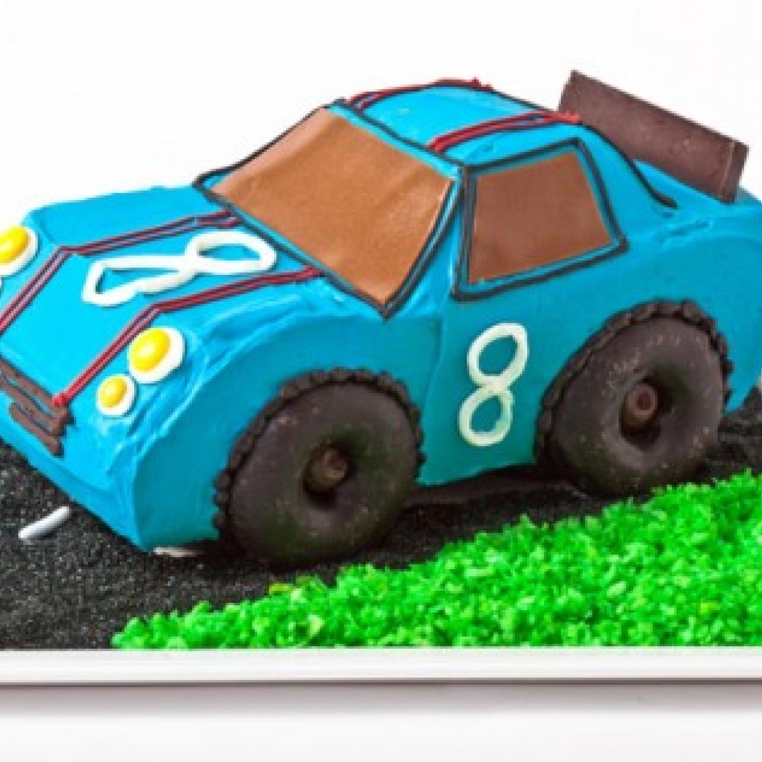 How To Make A Car Shaped Birthday Cake