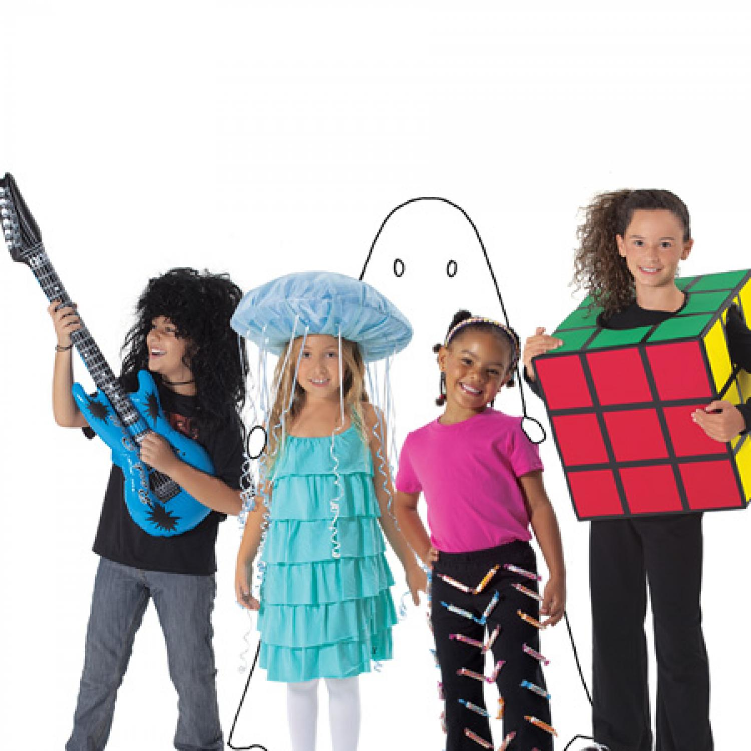 Easy costumes for kids