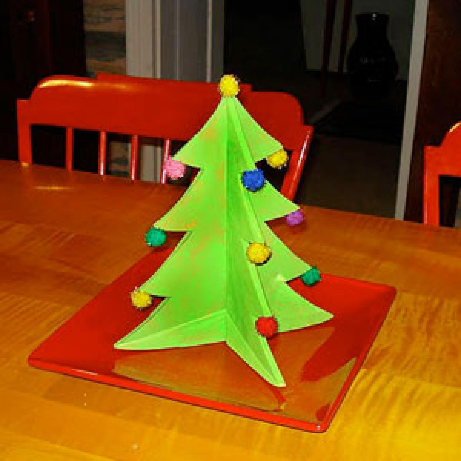 Christmas Table Centerpiece Craft For Kids