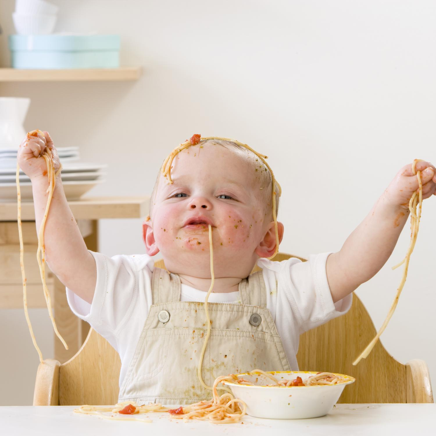 Nummular Eczema Baby Pictures Baby Eating Spaghetti