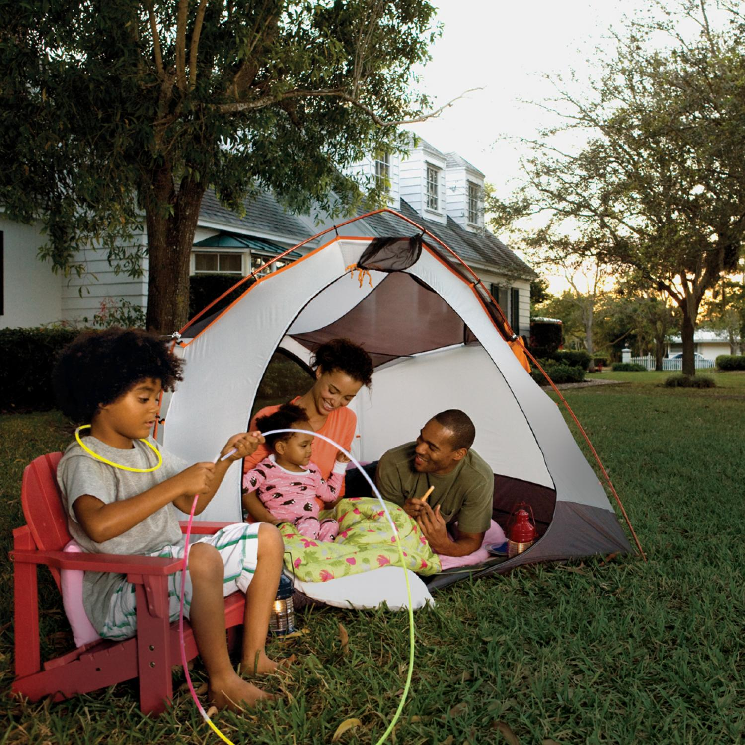 14 Ideas For Camping Out In Your Backyard Parenting