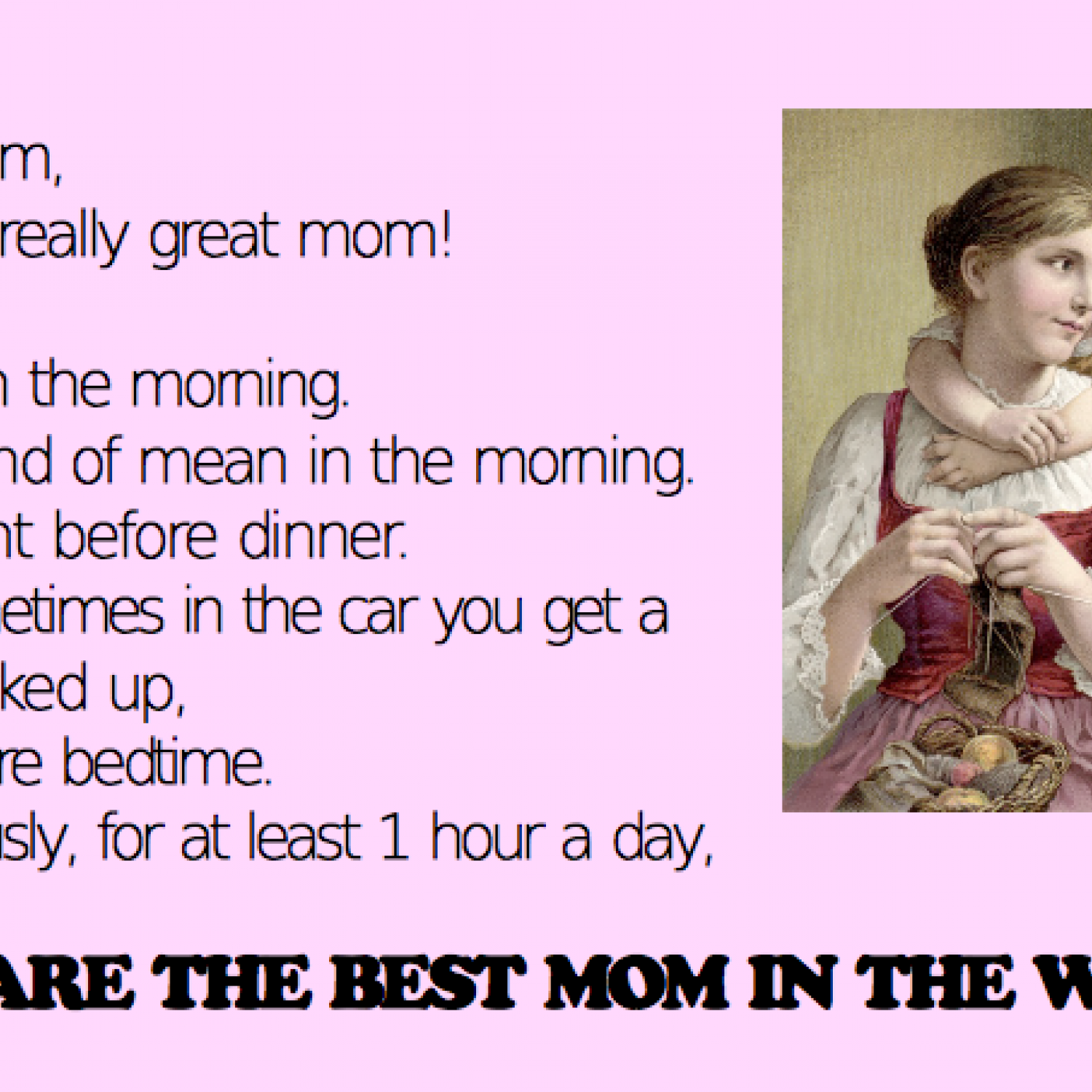 Honest Mother s Day Cards
