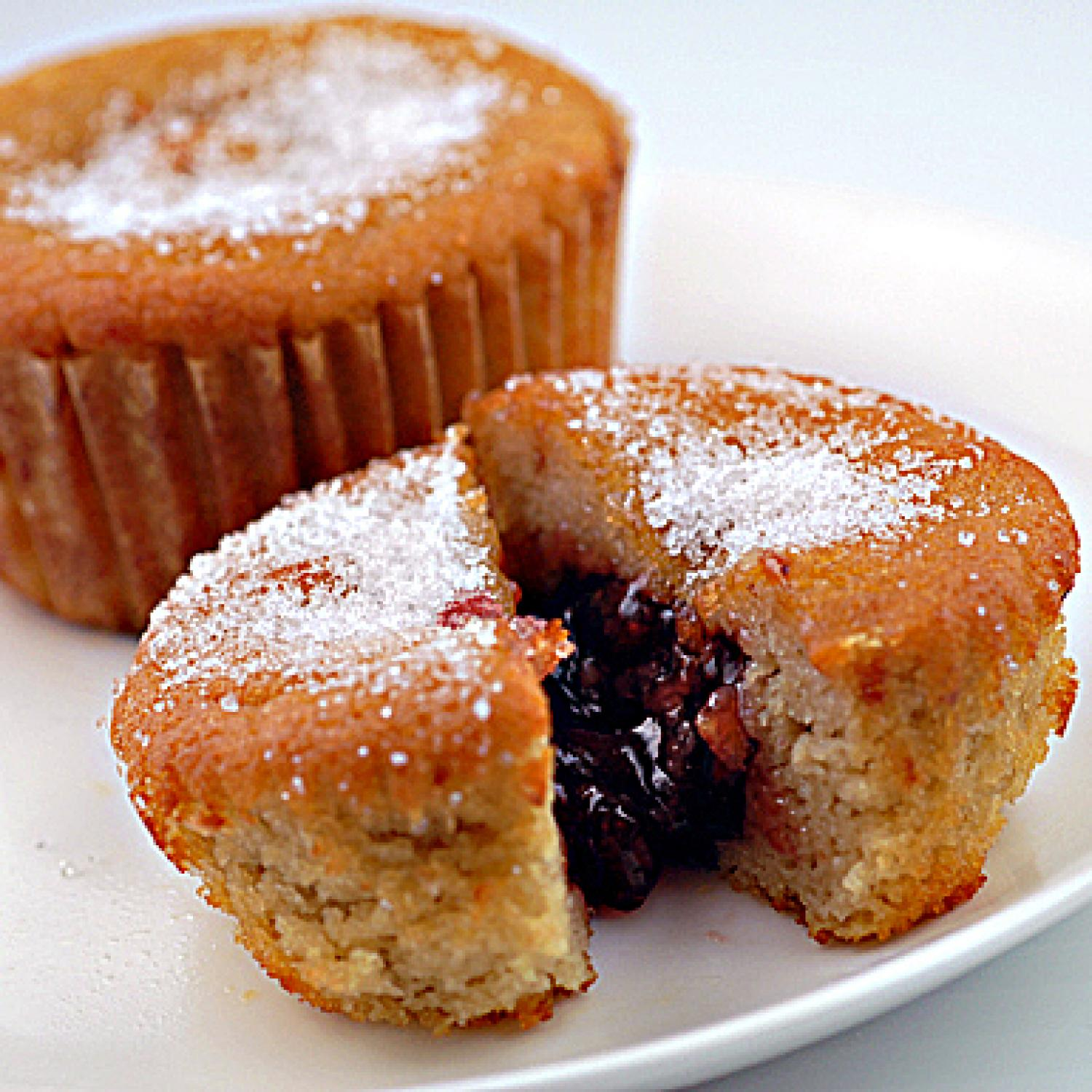 Gluten-Free Jelly Donut Cupcakes | Parenting