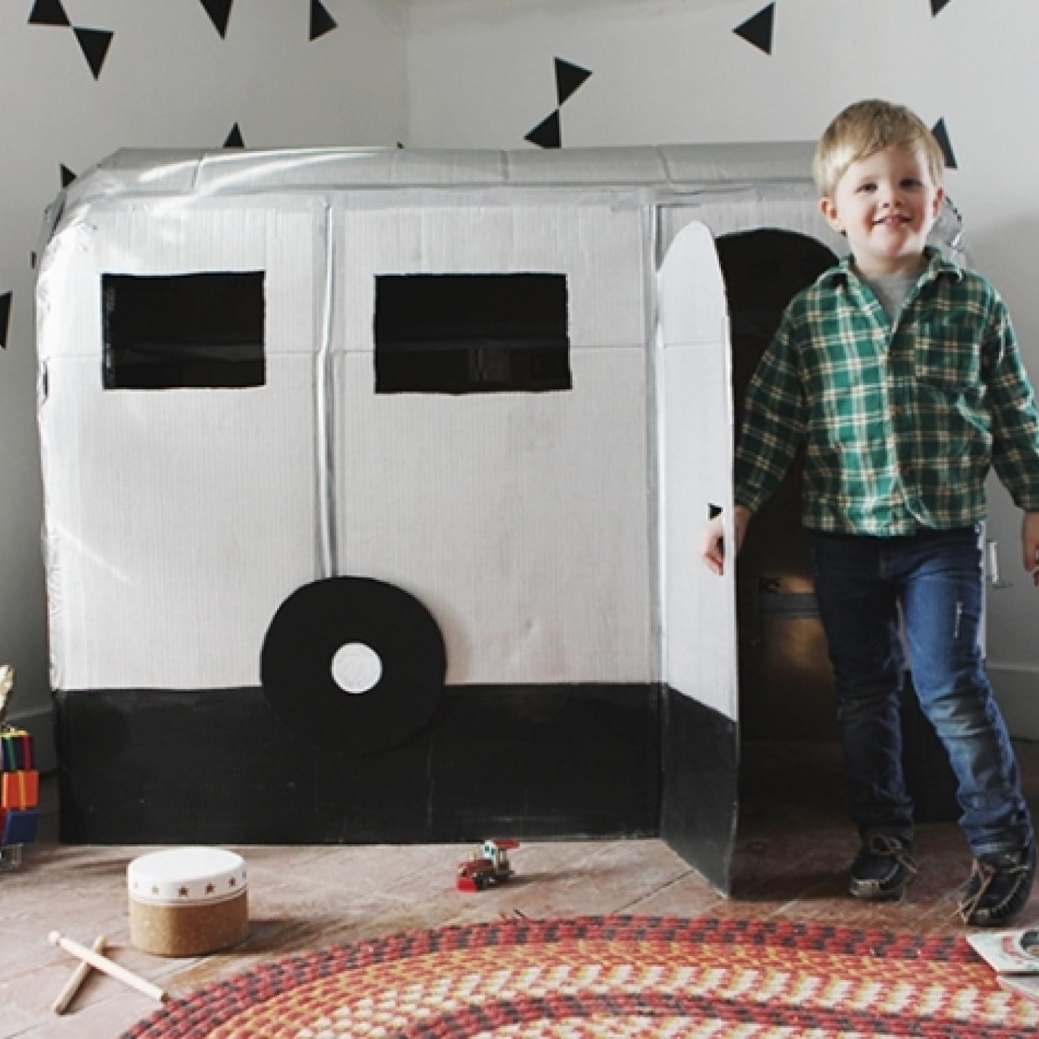 Thinking Outside The Box 10 Ingenious Cardboard Forts