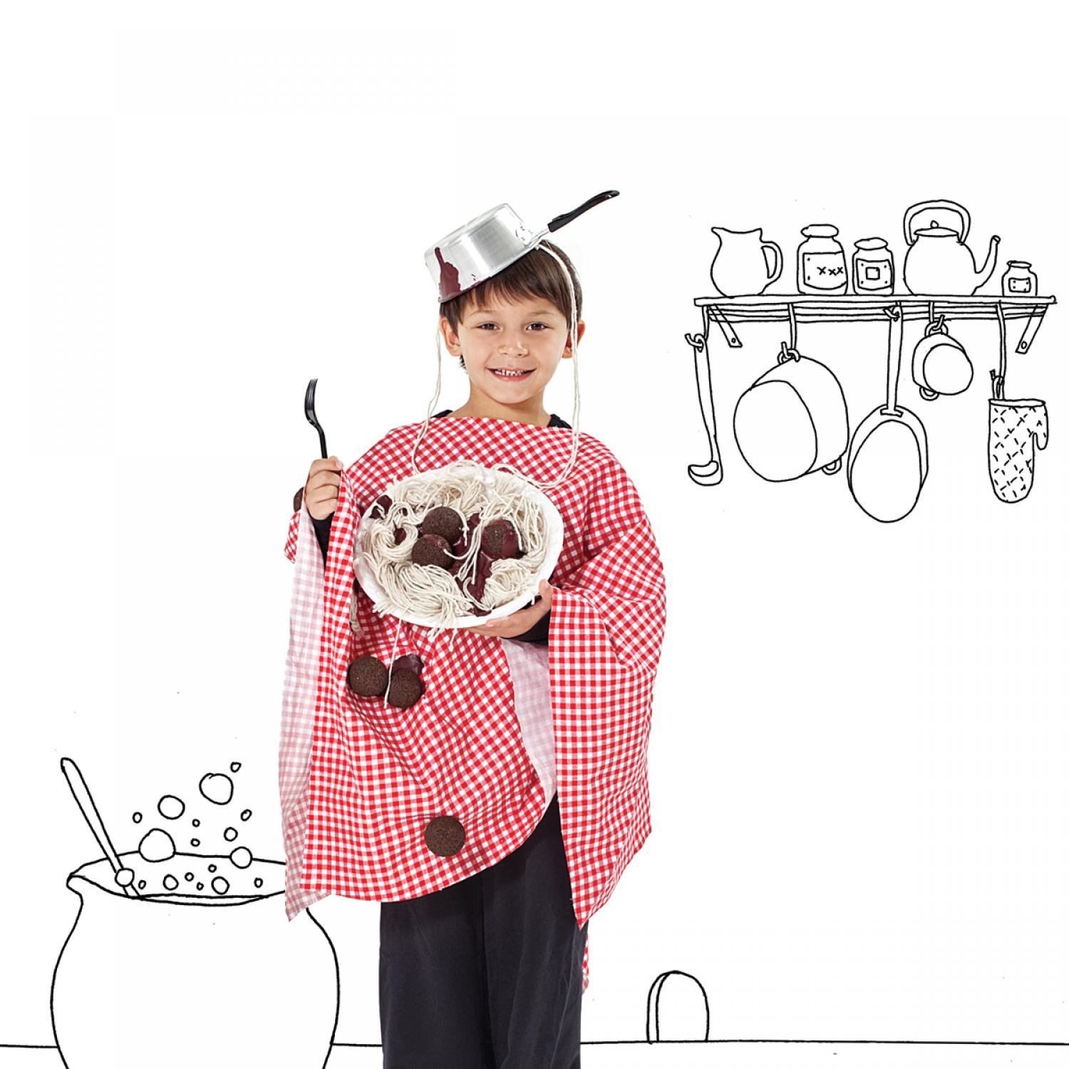 35 easy homemade halloween costumes for kids parenting for Quick halloween costumes for toddlers