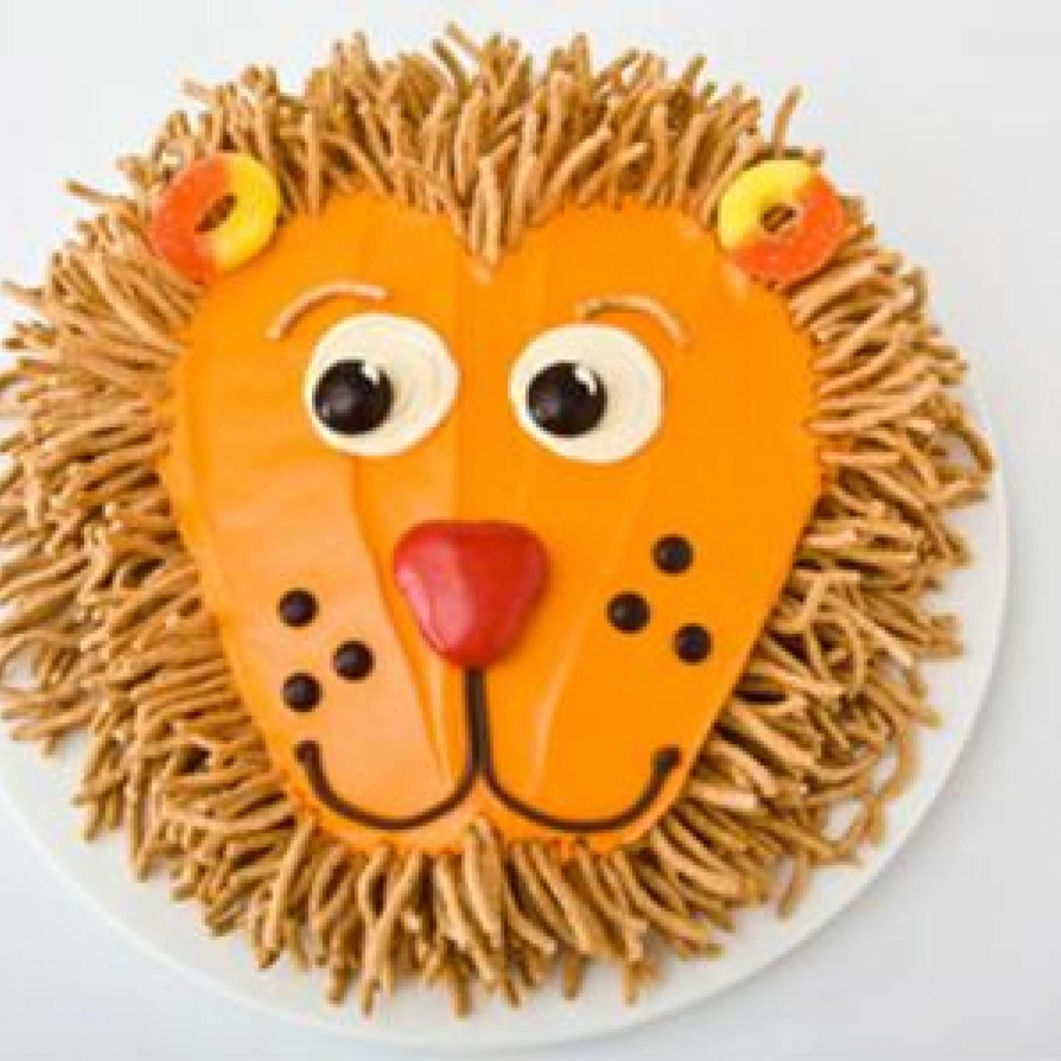 Lion Birthday Cake Design Parenting