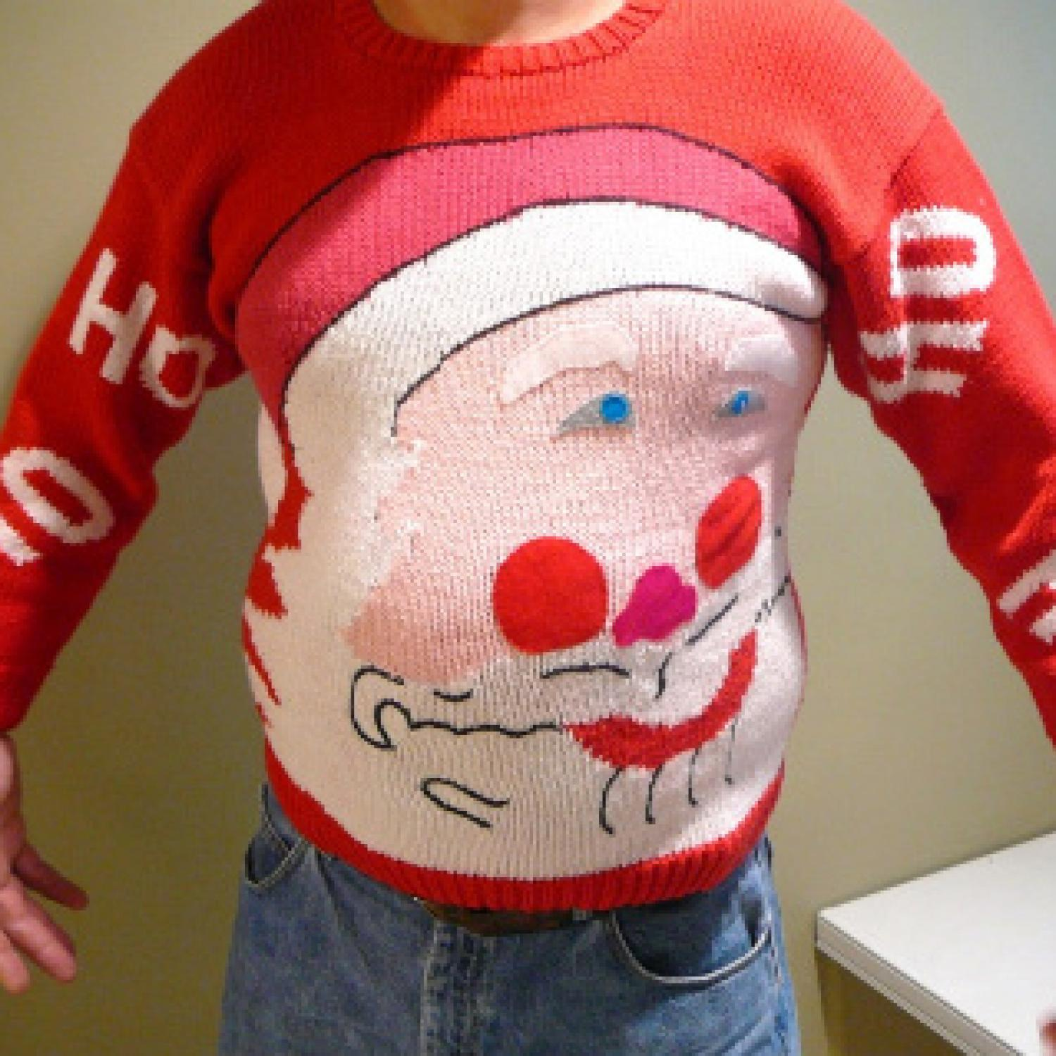 Ugly Christmas Sweater Toddler