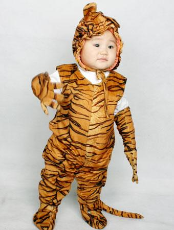 this is my son jason zhang who wanted to be a nice lazy tiger for halloween i made it using a sofa cover it turns out that jasons favorite part of - Tiger For Halloween