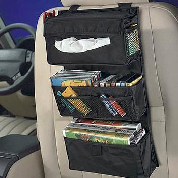 give kids easy access to all their favorite dvds and videos with the entertainment organizer seven sturdy pockets are specially designed to hold video