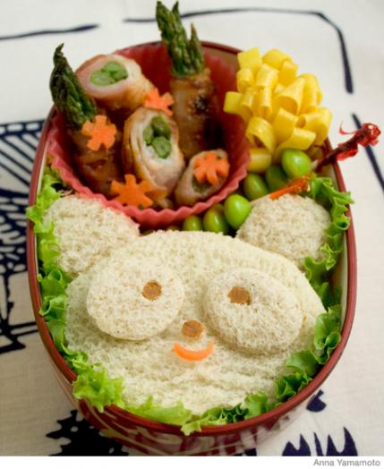 how to make a panda bento lunch box parenting. Black Bedroom Furniture Sets. Home Design Ideas