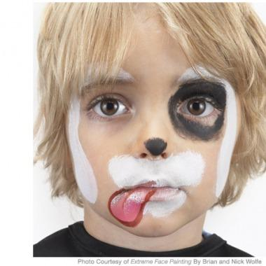 Easy Puppy Face Paint Images amp Pictures Becuo