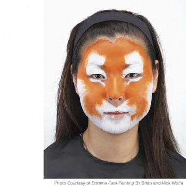 Face Paint Tiger Easy Images amp Pictures Becuo