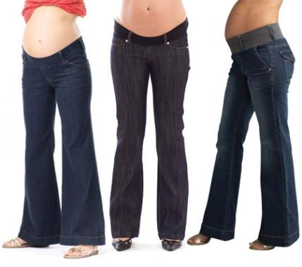 Flattering Designer and Inexpensive Maternity Jeans | Parenting