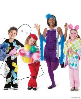 static electricity - Child Halloween Costumes Homemade