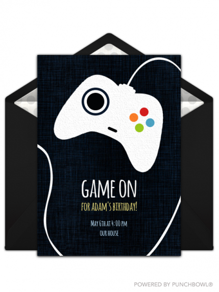 16 perfect birthday party invitations for kids of all ages parenting if your bigger kid is video game obsessed this free game controller themed birthday invitation is sure to be a winner this digital invite is especially stopboris Gallery