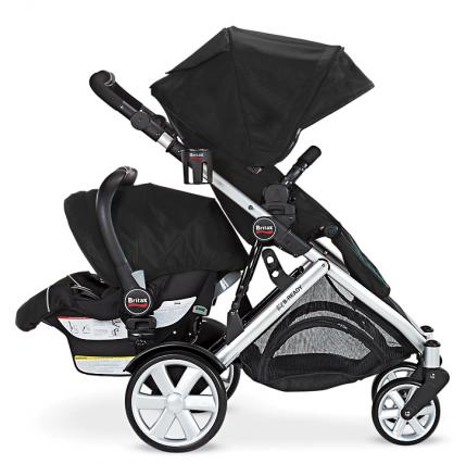 double strollers for growing families parenting. Black Bedroom Furniture Sets. Home Design Ideas