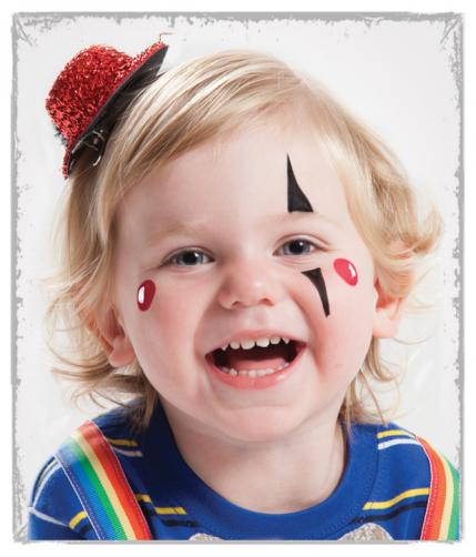 Easy Face Painting Designs For Cheeks 10 easy face painting ideas ... Simple Clown Makeup Men