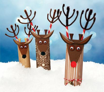 Reindeer decorations via parenting.com