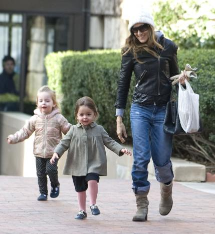 Sarah Jessica Parker Daughters Itok Celebrity Babies Moms And Families
