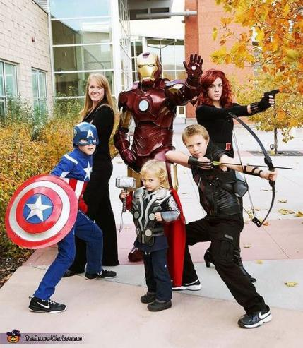 Halloween Family Costumes 1000 ideas about family halloween costumes on pinterest family halloween halloween costumes and family costumes Costume Works