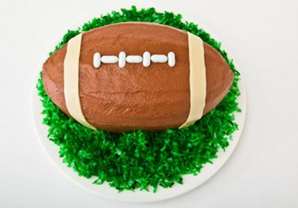 How To Make Football Cake Decorations