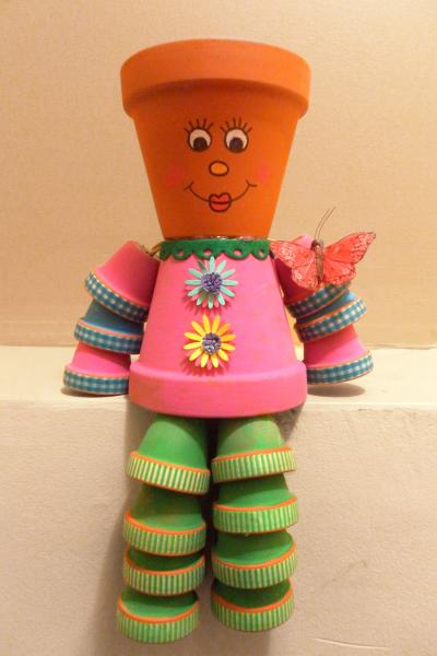 Liven Up Your Garden with Flowerpot People
