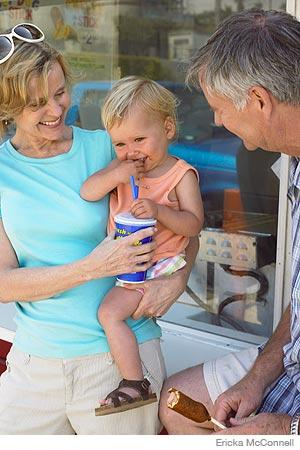 """grandparents parenting Let grandparents know when they have stepped over a line that you're not  comfortable with, such as giving you unsolicited parenting advice you can say, """"i ."""
