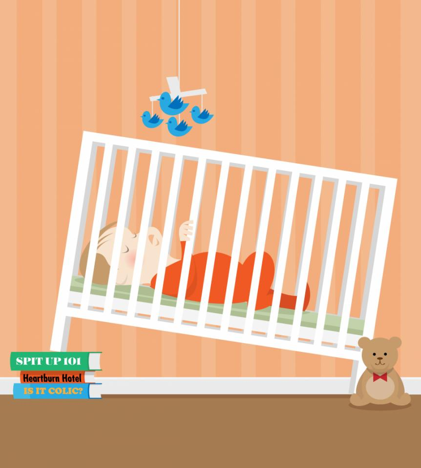 Baby bed for reflux - Reflux In Babies