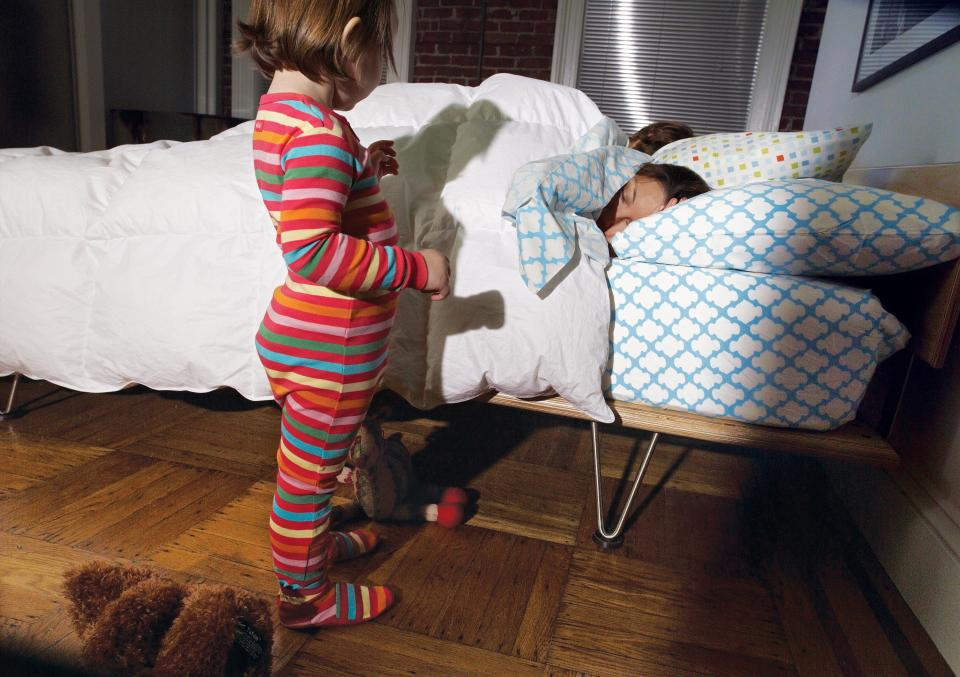 How to Get Your Kid To Sleep in Her Own Bed | Parenting