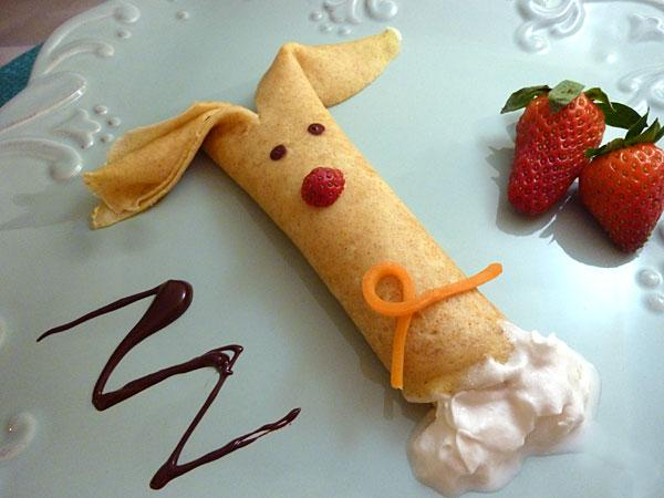 Easter Bunny Crepes Recipe Parenting
