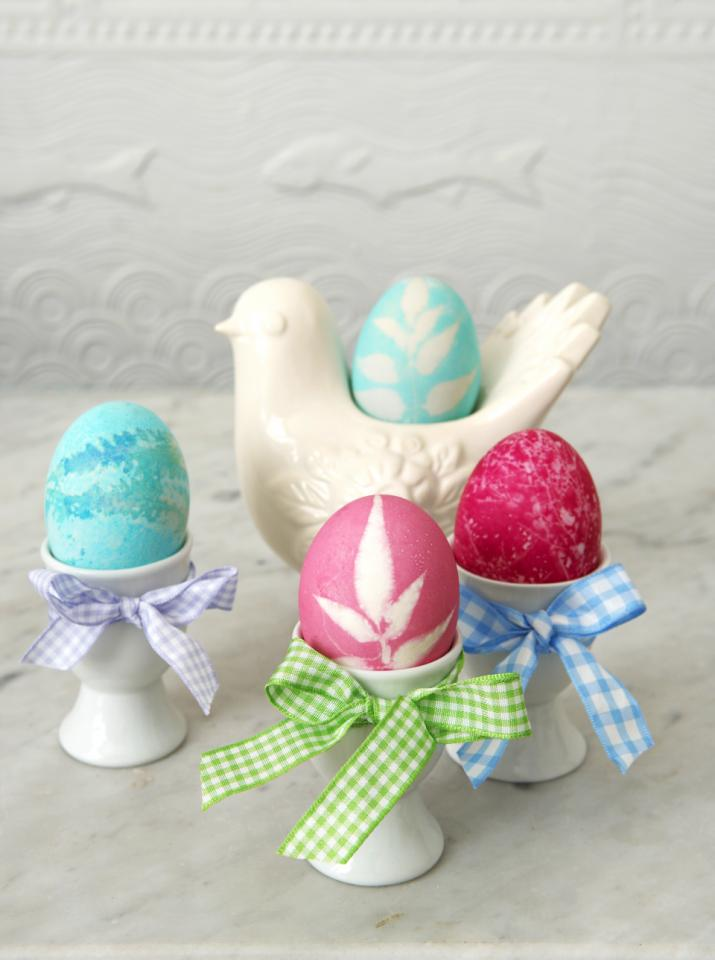 Coloring Easter Eggs Craft Parenting