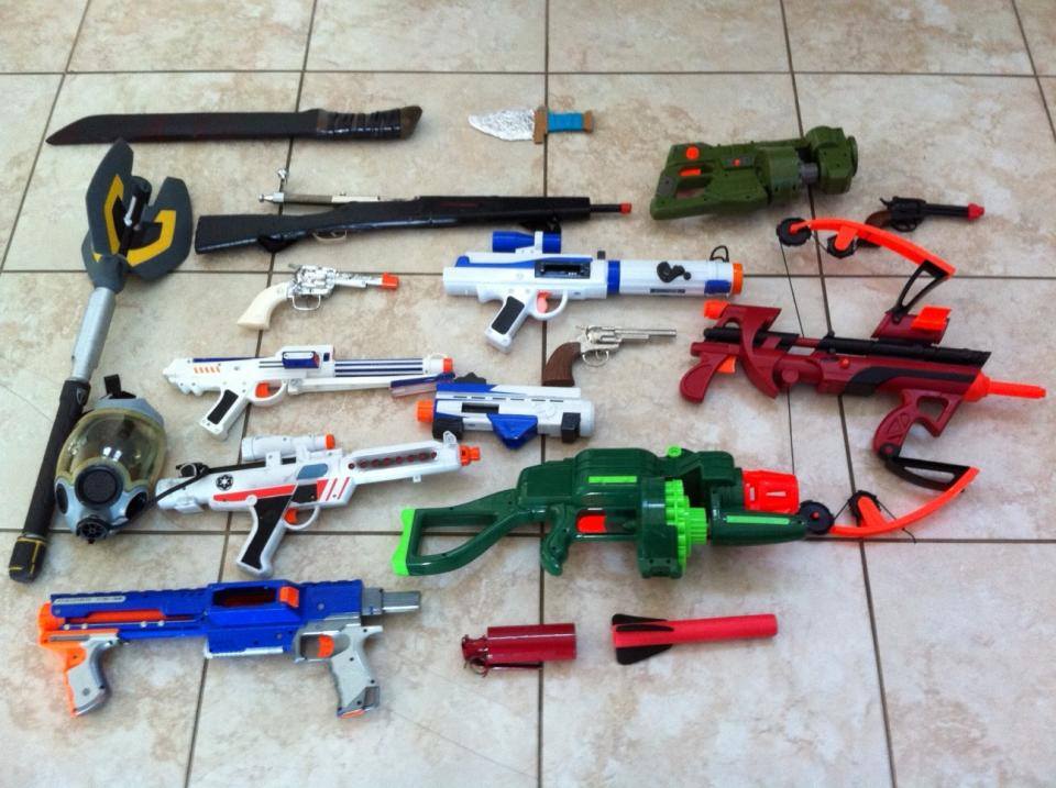 Old Fashioned Toy Guns