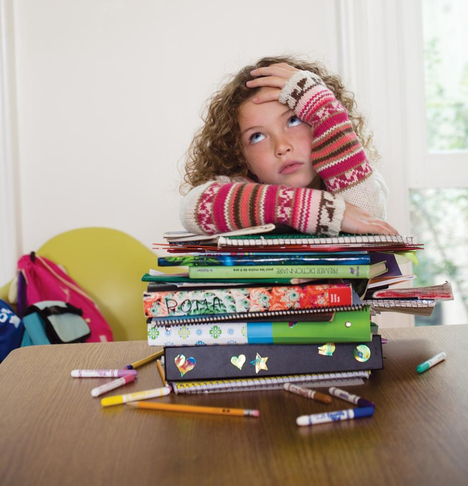 do children have too much homework