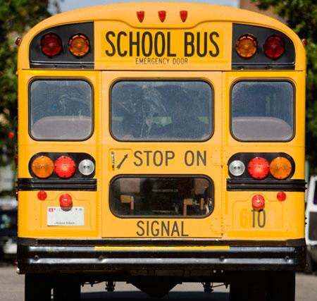 What are a few school bus safety facts?