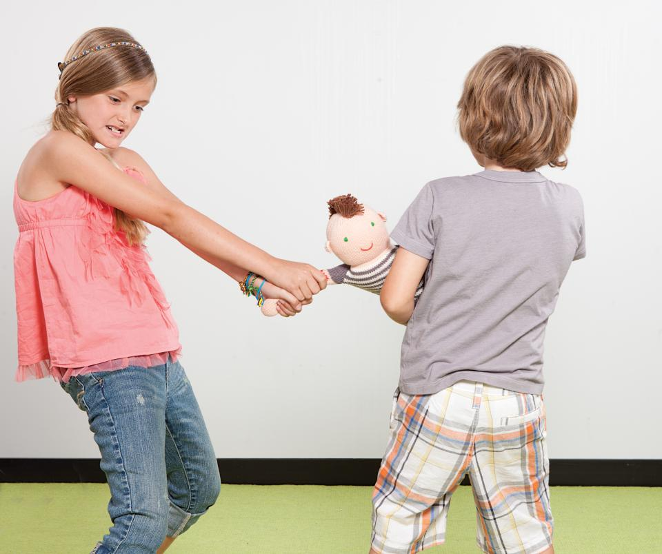 how to solve sibling rivalry