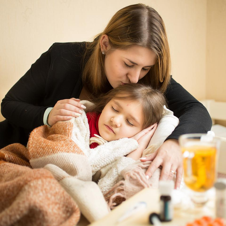 Sick Day Survival Tips Parenting