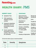 Parenting magazine health diaries