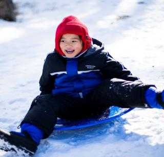 20 Awesome Snow Sleds for Kids That Will Make Their Spirits Soar