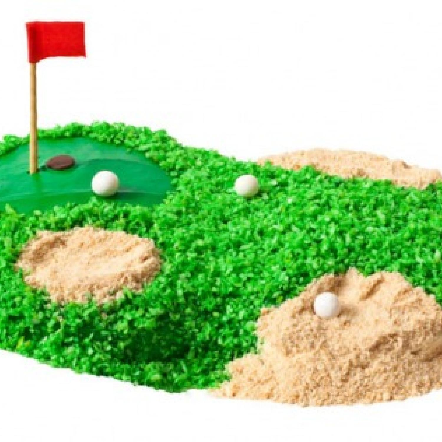 Golf Birthday Cake Design