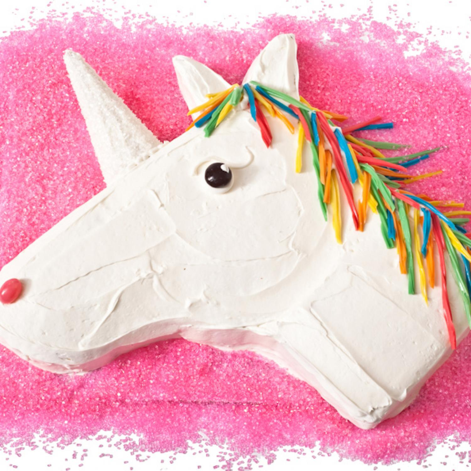 Unicorn Birthday Cake Design