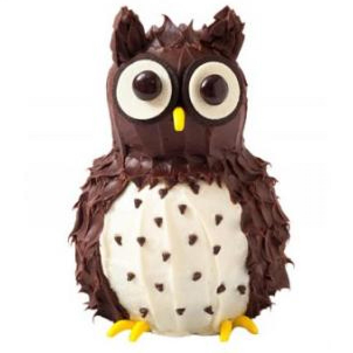Owl Birthday Cake Design