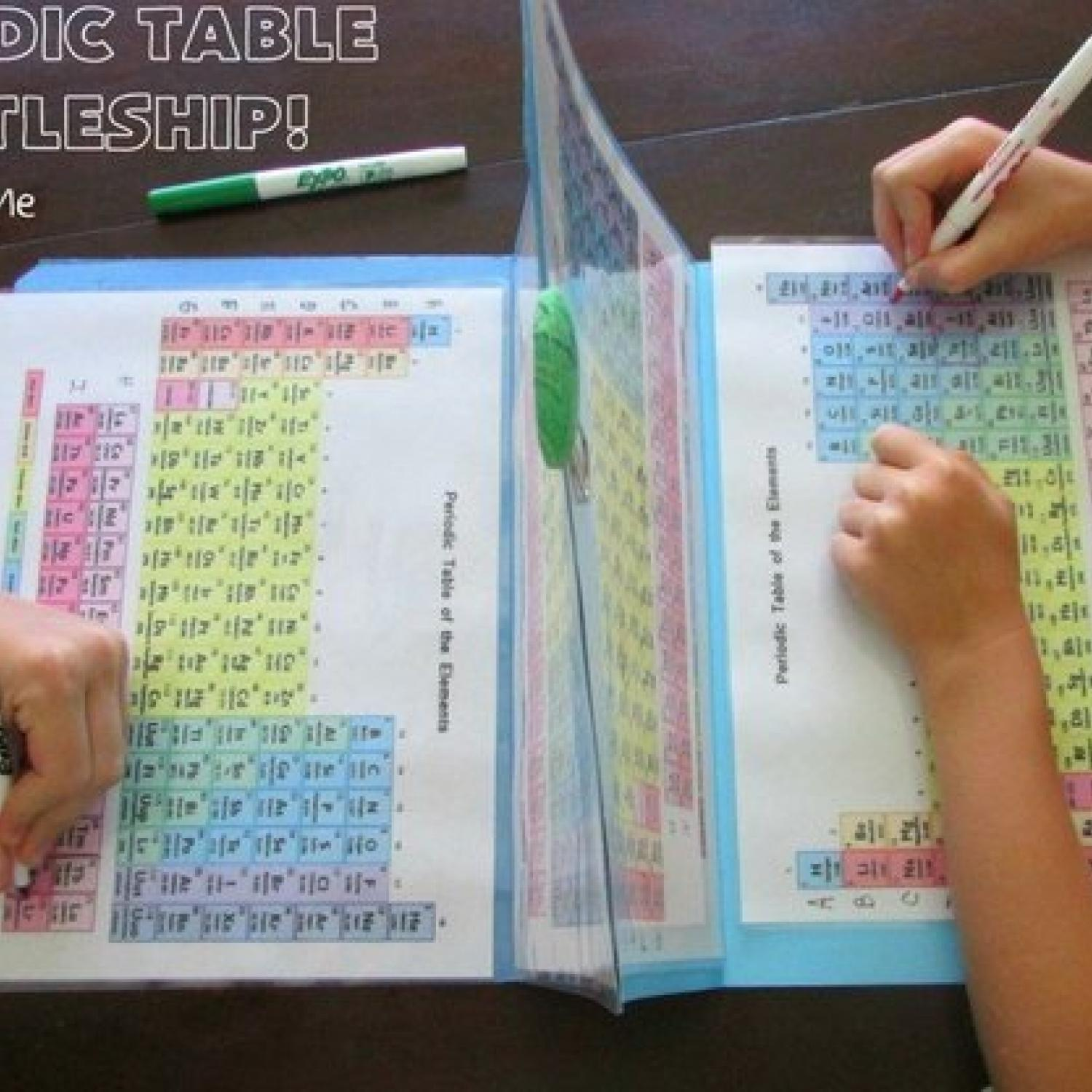 Mom designs periodic table battleship to teach her kids chemistry mom designs periodic table battleship to teach her kids chemistry parenting urtaz Gallery