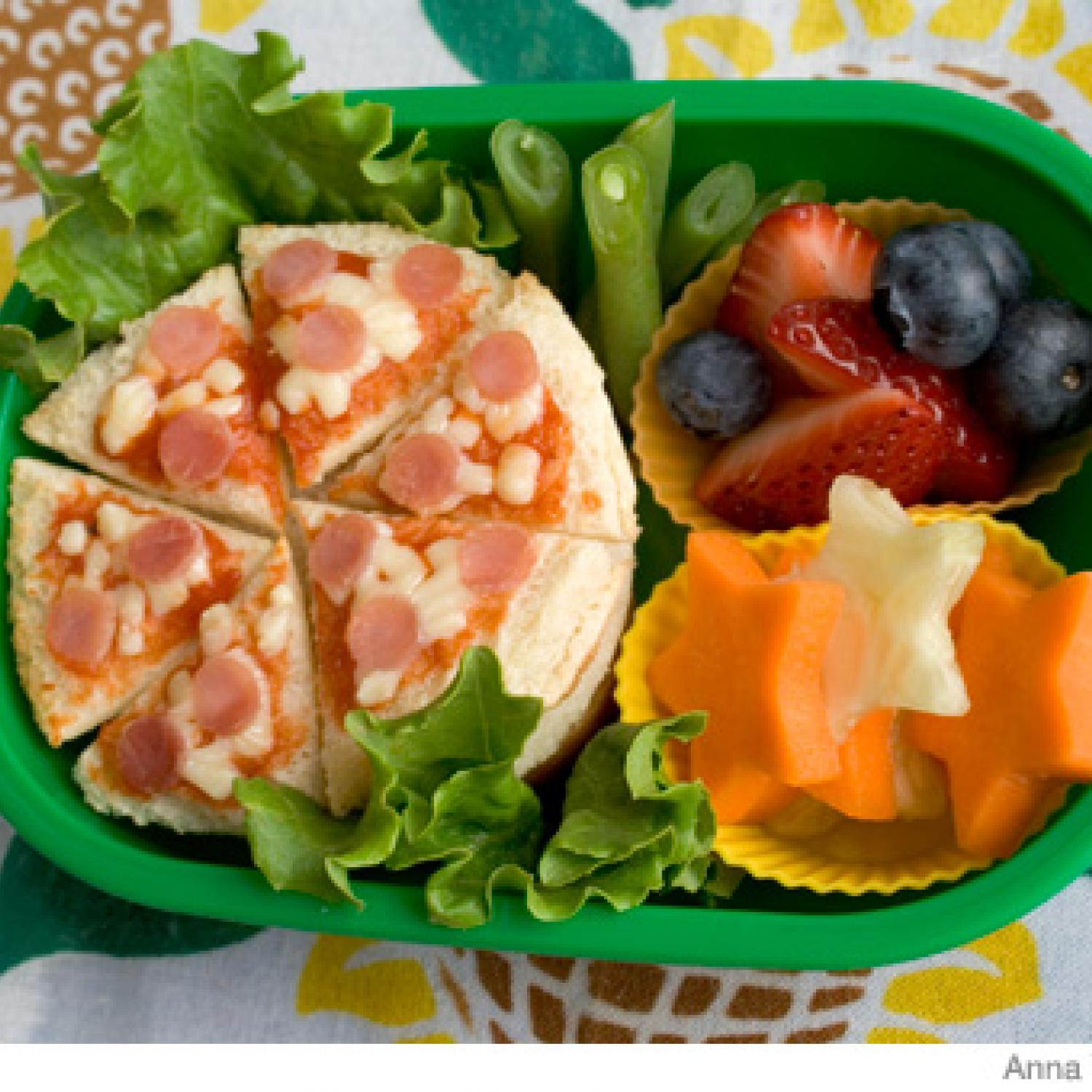 How To Make A Pizza Bento Lunch Box